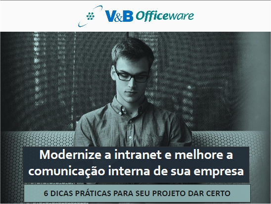 eBook 1 - Modernize a intranet e melhore a comunicação interna de sua empresa
